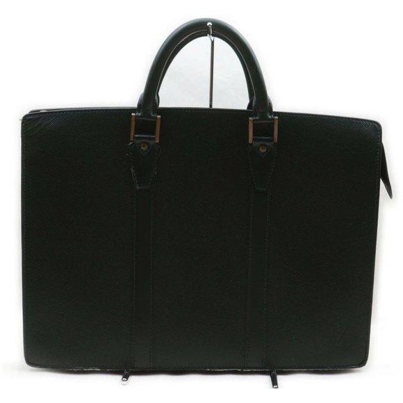 Louis Vuitton  Leather Documents  Briefcase 861690